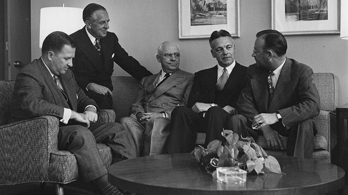 Officers of the Ford Foundation. 1950. Photo Credit: © Ford Foundation