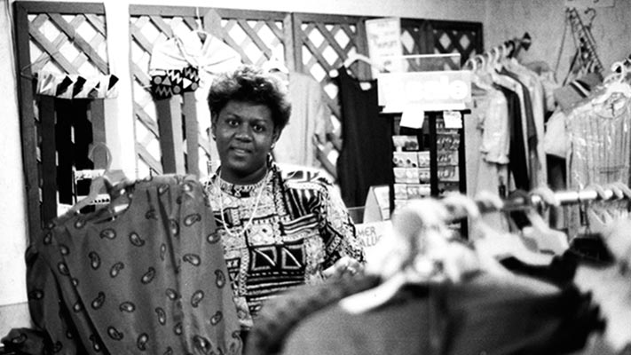 Beginning in 1984, Ford partnered with the Center for Community Self-Help in Durham, North Carolina, to provide small business loans, fund new housing and child care initiatives, and combat predatory lending. 1984. Photo Credit: © Ford Foundation