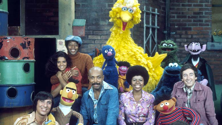 Sesame Street Season 5 Cast. 1969. Photo Credit: © Ford Foundation